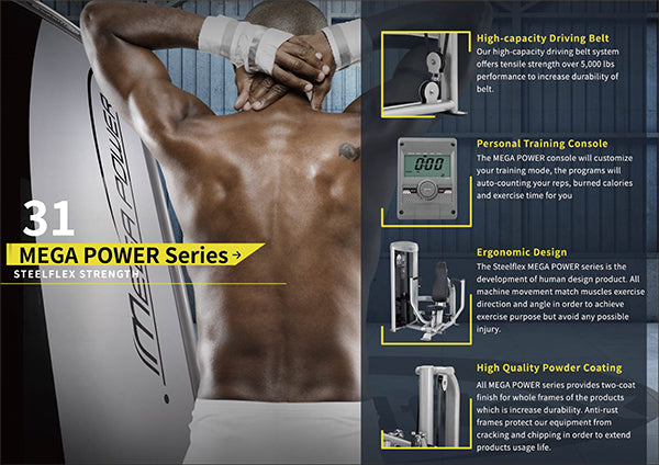 Catalog Steelflex Mega Power Series