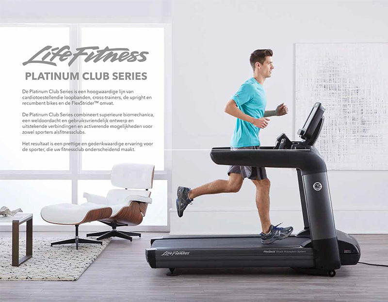 Life Fitness Catalogus Platinum Club Series
