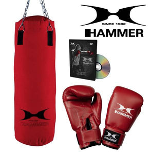 Hammer Boxing Set Fit, Nylon, 60 cm