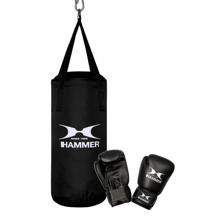 Hammer Boxing Set Junior, Nylon (inclusief 6OZ gloves)