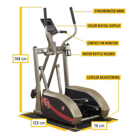 Bestfitness Center Drive Elliptical  BFE1