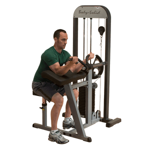 Body-Solid Selectorized Biceps & Triceps Machine GCBT-STK