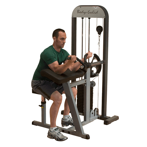 Body-Solid Selectorized Biceps & Triceps Machine GCBT-STK - BEURSMODEL