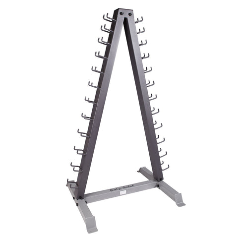 Body-Solid  12 Pair Vertical Dumbbell Rack GDR24