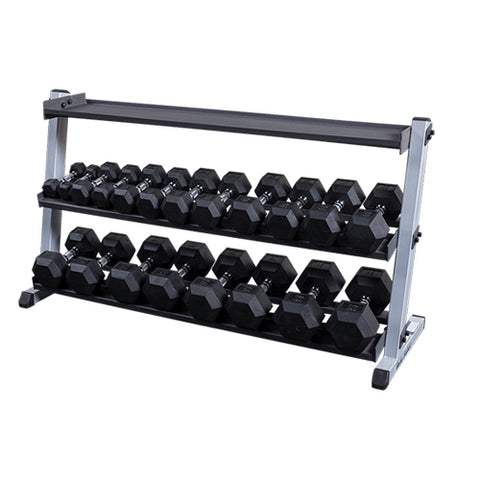 Body-Solid Optionele Kettlebellschap voor GDR60 GKRT6