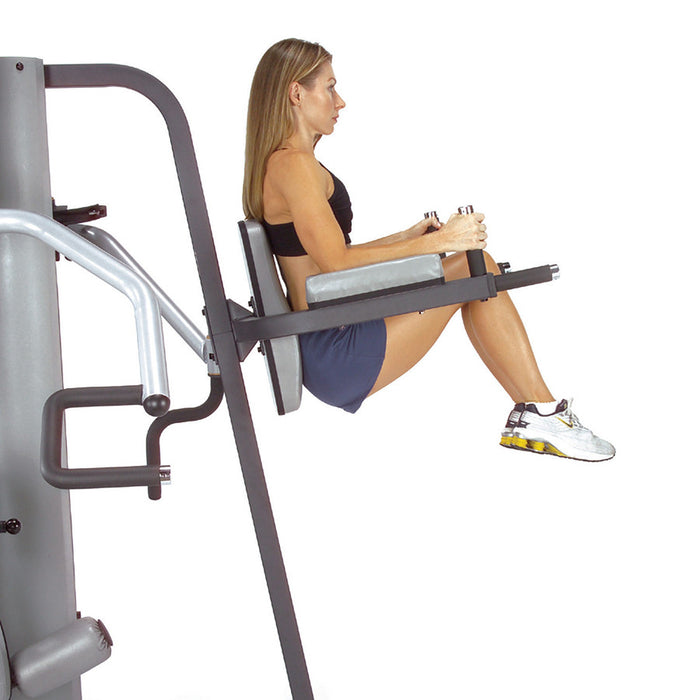 Body-Solid Vertical Knee Raise en Dip Station GKR9