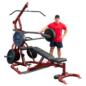 Body-Solid Corner Leverage Gym Package GLGS100P4 (GLGS100 + GFID100) - BEURSMODEL