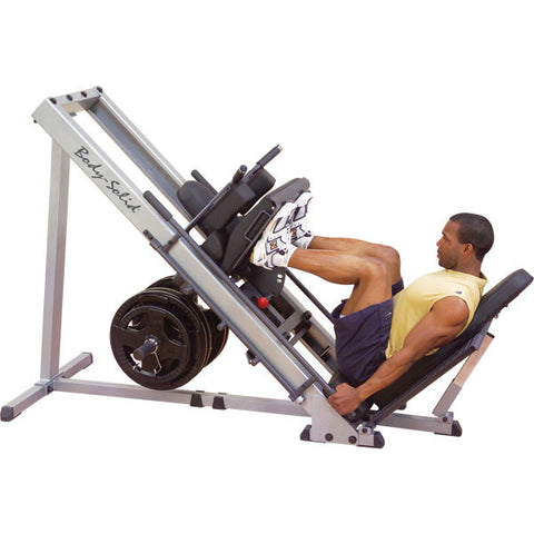 GLPH1100 leg Press squat machine met olympische adapter 50 mm