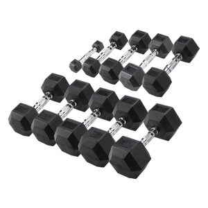 Hexagonale Halters SET1 HEXRU (1 - 10 kg)