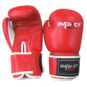 Impact Traditional Pro Boxing Gloves (Leather)