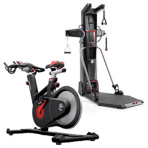 Life Fitness IC6 Indoor Cycle + Bowflex Hybrid Velocity Trainer