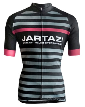 JARTAZI - Cycling Jersey Short Sleeves + Hidden Zip (Ladies)