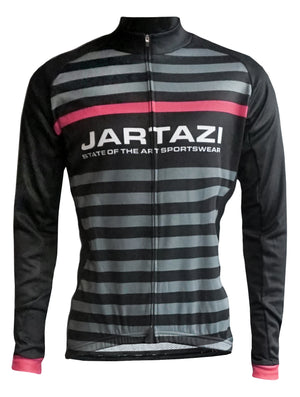 JARTAZI - Cycling Jersey Winter Long Sleeves + Hidden Zipper (Ladies)