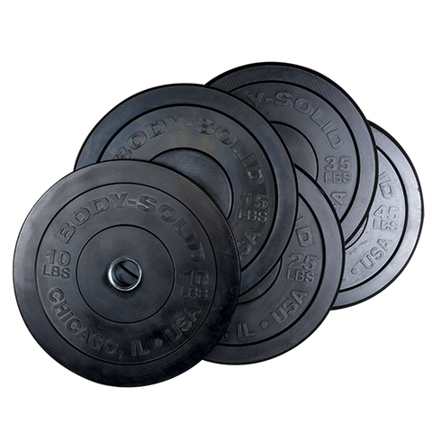 Body-Solid Chicago Extreme Olympische Bumper Plates OBPXK