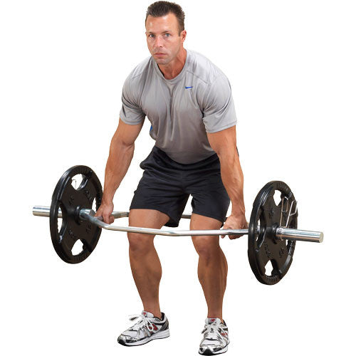 Body-Solid Olympic Shrug Bar OTB50