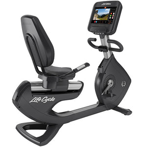 Life Fitness Platinum Club Series Lifecycle Recumbent Bike met Discover SE3HD Console - NIEUW!