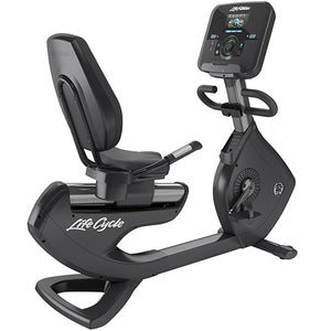 Life Fitness Platinum Club Series Lifecycle Recumbent Bike met Explore Console