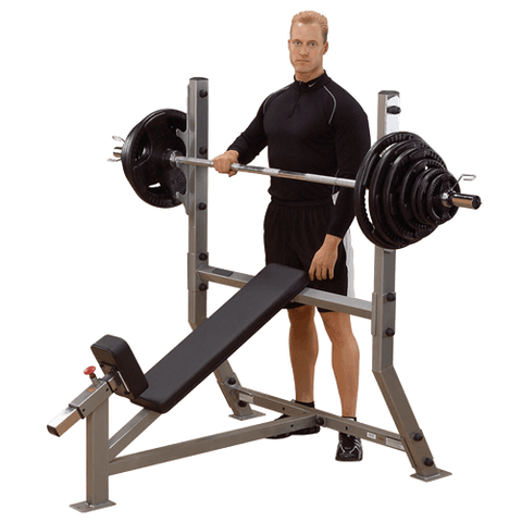 Pro Club Line Incline Olympic Bench SIB359G