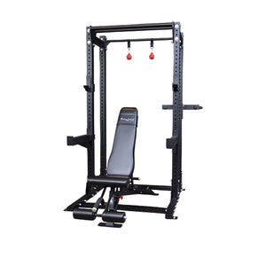 Body-Solid Extended Half Rack Package SPR500BACKP4