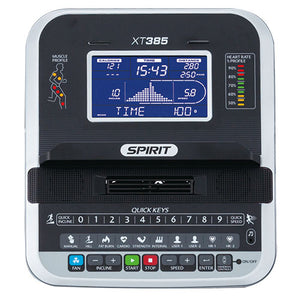 Spirit Fitness opklapbare loopband XT385