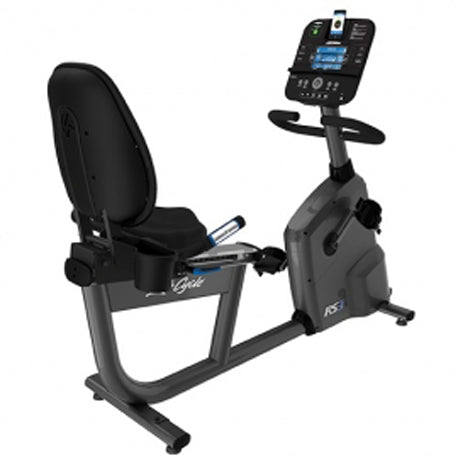 Life Fitness hometrainer ligfiets RS3 Track +