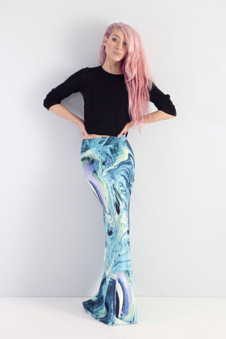 Ariel Takes A Trip - To The Rockpool - Maxi Skirt