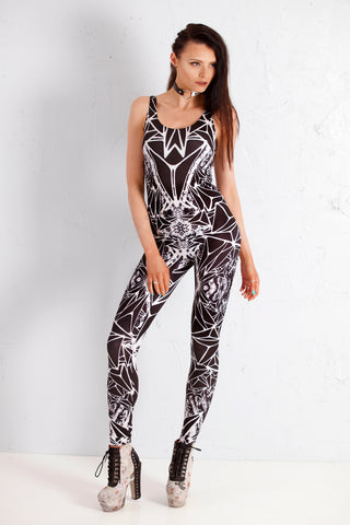 PRE ORDER Diamond Witchcraft - Strappy catsuit
