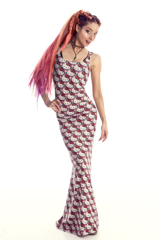 HELLO KITTY MAXI DRESS