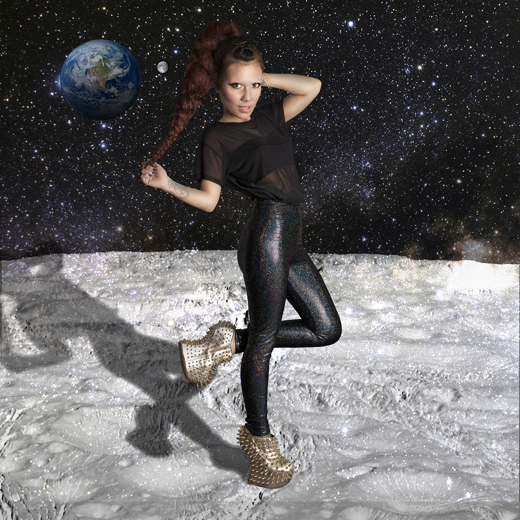 PRE-ORDER Midnight Cosmic Leggings