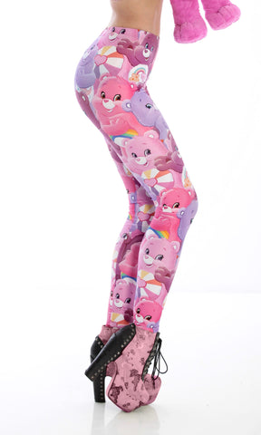 PRE-ORDER CARE BEARS LEGGINGS - PINK