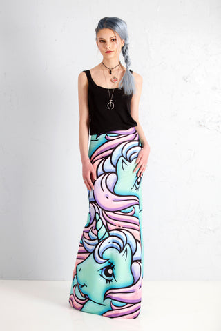 MLP Minty The Mer-Pony Maxi Skirt - NEW