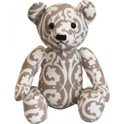 Lelbys Teddy Bears - Beige Damask