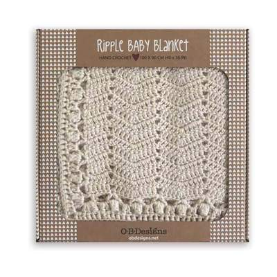 O.B. Designs  Hand Crochet Natural Baby Blanket Ages 0+-baby-blanket-baby-boy-baby-girl-newborn-baby - Prairie Lane Boutique for Kids