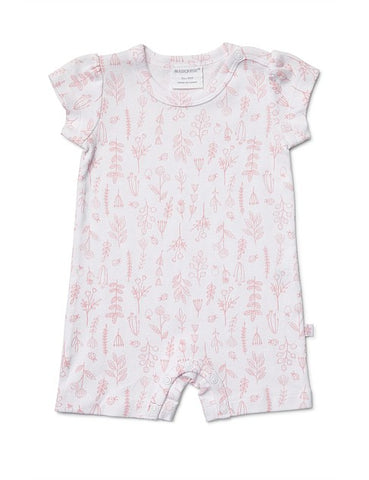 Marquise 2 Pack Romper and Bodysuit Ladybird flower
