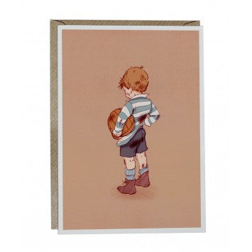 Belle and Boo Card 'Football' - Prairie Lane Boutique for Kids