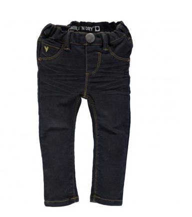 Tumble 'N Dry Baby Girl Pollock Sky Captain Jeans ON SALE - Prairie Lane Boutique for Kids