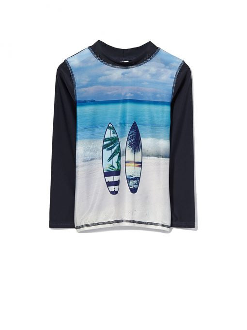 Milky Baby Boy Surfer Rashy - Prairie Lane Boutique for Kids