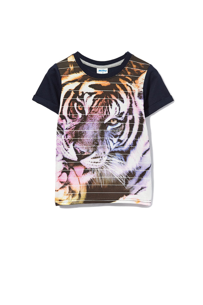 Milky Boy Tiger Tee - Prairie Lane Boutique for Kids