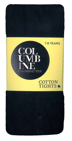 Columbine Cotton Tights - Navy