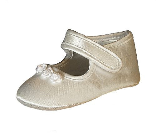 Heritage Girls Tianna Shoe - Ivory - Prairie Lane Boutique for Kids