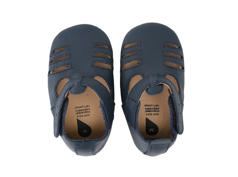 Bobux Soft Sole Sandal - Navy Boys