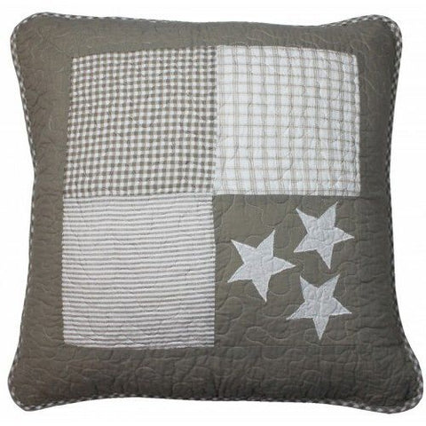 Linens 'n' Things Lachlan Natural Cushion Cover