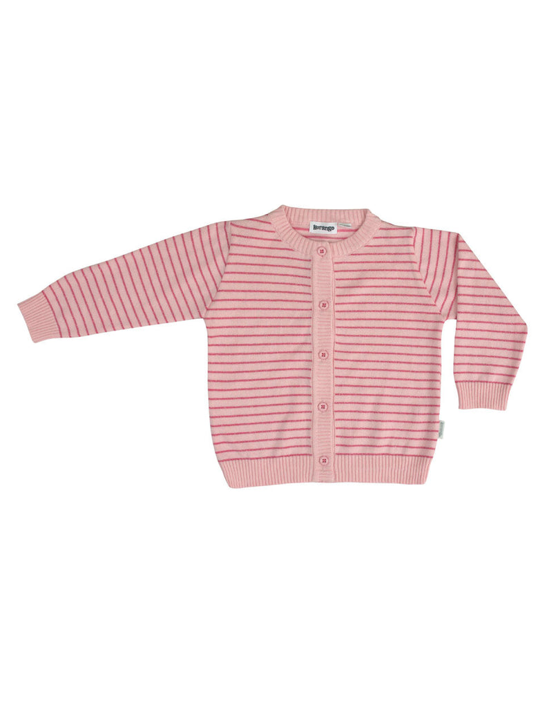 Korango ON SALE Girl Summer Smiles Cardigan - Pink Stripe - Prairie Lane Boutique for Kids