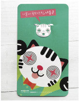 Card and Bookmark - Cat Dark Green
