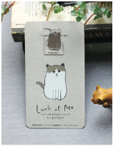 Cat Grey Card and Bookmark