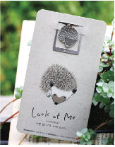 Hedgehog Card and Bookmark