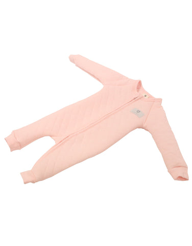 Korango  ON SALE AW17 Plush Baby Padded Romper - Pink