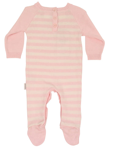 Korango ON SALE AW17 Wool Blends Knit Romper - Pink - Prairie Lane Boutique for Kids