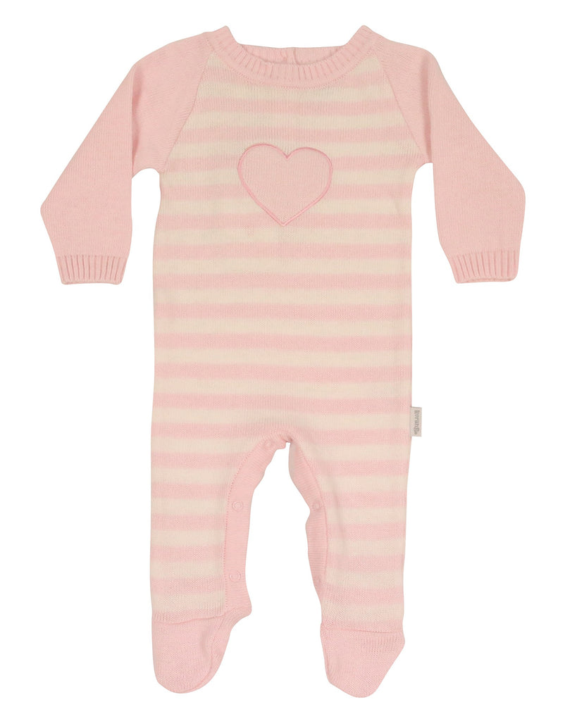 Korango ON SALE AW17 Wool Blends Knit Romper - Pink