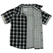 Korango ON SALE Baby Boy Navigator Check Shirt - Black - Prairie Lane Boutique for Kids